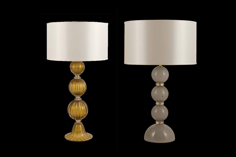 Lampade da tavolo tre sfere  Alberto Dona