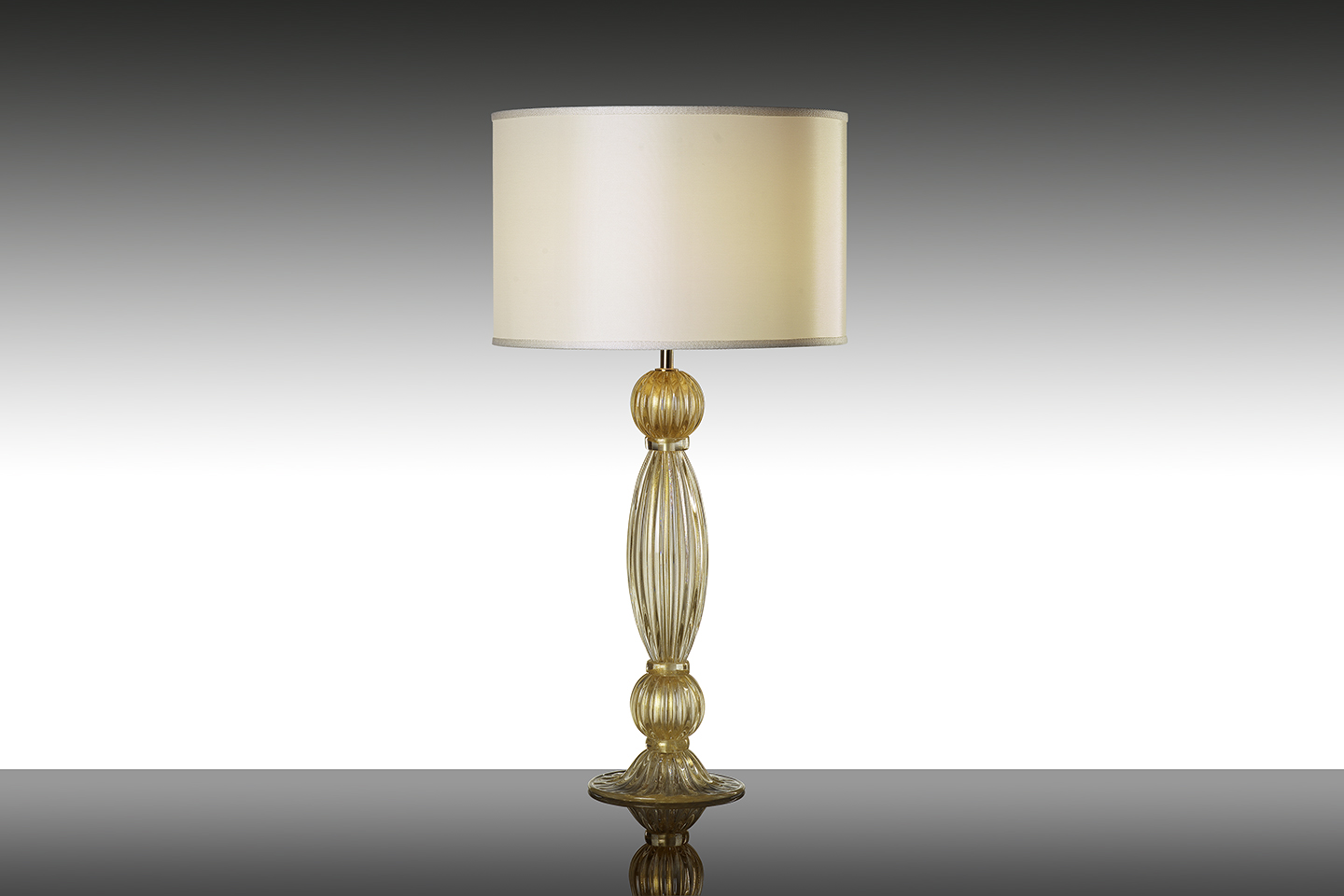 Picture of: Table Lamp Rialto Small Crystal Gold Alberto Dona